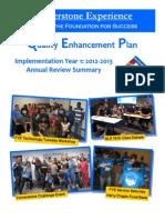 QEP Annual Summary 2013