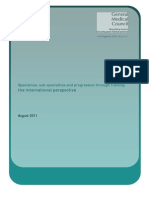 Specialties Subspecialties and Progression Through Training the International Perspective.pdf 45500662