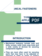 Mechanical Fastners Types and Applications