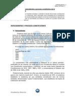 Tema 1 Anexo 1 Influencias y Proceso Constituyente de La Constitucion de 1978