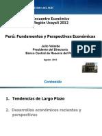 Fundamentos y Perspectivas Económicas