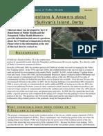 O'Sullivan's Island Fact Sheet