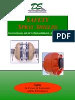 Drake Flange Safety Spray Shields
