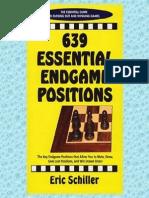 Eric Schiller - 639 Essential Endgame Positions [Excerpt Cardoza 2000]