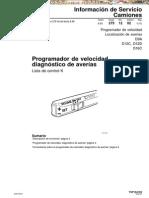 Manual de Programador de Velocidad de Camiones Volvo
