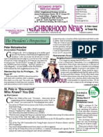 Historic Old Northeast Quarterly Newsletter March 2014