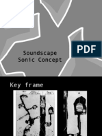 Soundscape- Sonic Concpet