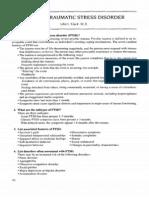 18. Posttraumatic Stress Disorder