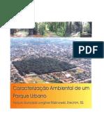 Caracterização Ambiental de um Parque Urbano
