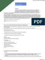 Guia de Windows Memory Diagnostic