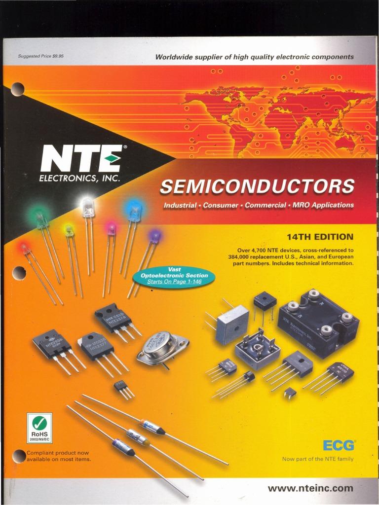 manual de reemplazo de semiconductores rh scribd com NTE Cross Reference NTE Exam
