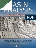 35. Basin Analysis (Allen & Allen)
