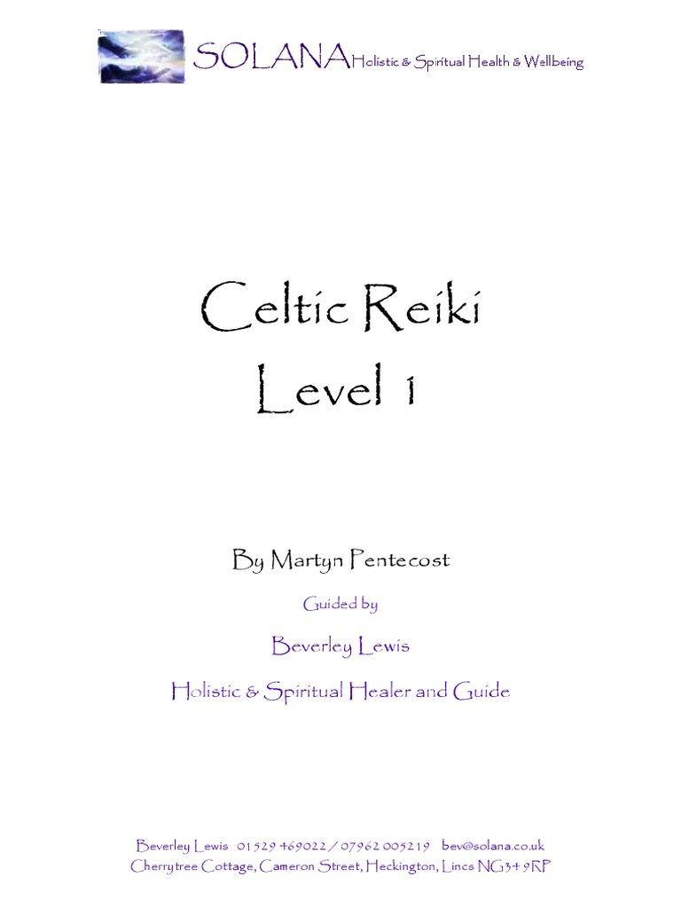 Celtic reiki 1 manual chakra qi buycottarizona Gallery