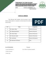 Office Order 2