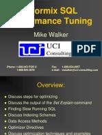 Guidelins SQL Performance