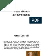 Artistas plásticos lationamericanos