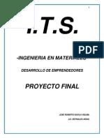 RECICLADO DE NEUMÁTICOS PARA LA FABRICACIÓN DE LÁMINAS