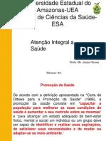 apresentação aula atenção Integral a Saúde 11.03.13