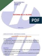 Gestión de la calidad 16012014  Procesos Responsabilidad de la dirección Gestión de recursos
