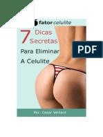 Livro - 7 Dicas Secretas Para Eliminara Celulite