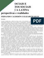 Calderón, Jelin. CLASSES SOCIAIS E MOVIMENTOS SOCIAIA NA AL, rbcs, 1987
