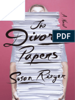 The Divorce Papers by Susan Rieger - Adapted Excerpt