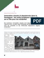 logements abandonee