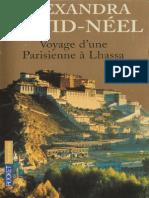 David-Neel Alexandra Voyage d'une Parisienne a Lhassa