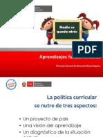 AprendizajesFundamentales en Marco 2014l