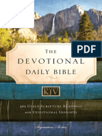 The Devotional Daily Bible, KJV