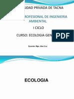 Semana 14 Ecologia