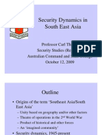 Thayer Security Dynamics in Southeast Asia