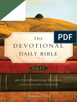 The Devotional Daily Bible, NKJV