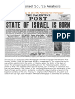 Israel Source Analysis