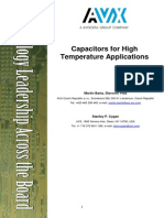 Capacitors High Temp