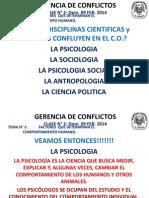 GERENCIA DE CONFLICTOS CLASE N° 2_DOM 09 FEB.2014