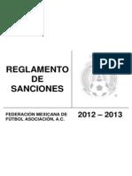 Reglamento de Sanciones 2012-2013