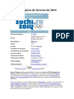Jogos Olímpicos de Inverno de 2014