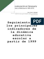 12 Años de educación en Venezuela 1999-2010