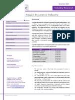 CSR Kuwait Insurance Industry November2009