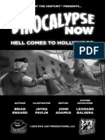 Dinocalypse Now Hell Comes to Hollywood - A Spirit of the Century Adventure
