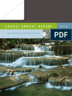 CUAHSI Annual Report 2013