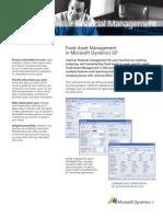 1 Fixed Asset Management GP10.0
