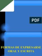 Caracteristicas Del Comunicador Oral-presentacion
