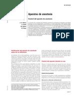 Tema 009 Aparatos de Anestesia. Control Del Aparato de Anestesia.