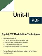 Digital CW Techniques