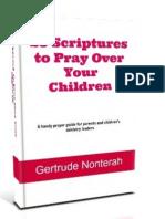 25 Scriptures to Pray Over Your Children