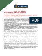 com0176, 200505 Eugenio Hernández anuncia apoyo a la industria pesquera.