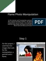 flame photo manipulation