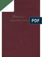 Bachofen, Johann - Unsterblichkeitslehre (1938)